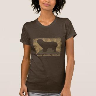 Camiseta polaca terrosa del perro pastor de la remera
