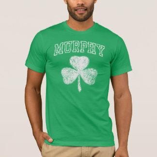 Camiseta popular del irlandés del trébol de Murphy