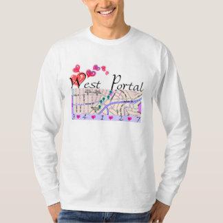 camiseta porta del oeste (HOMBRES ' S) Playeras