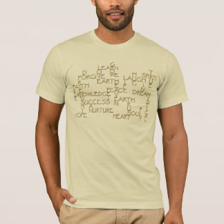 Camiseta positiva de motivación de la afirmación