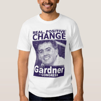 Camiseta positiva real del cambio camisas
