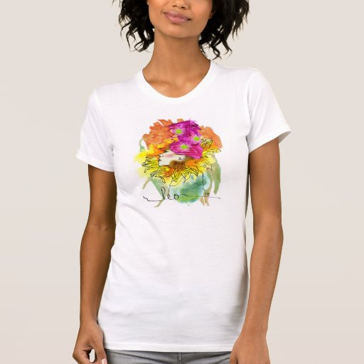 Camiseta preciosa de Leo Remera