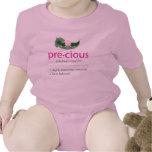 """Camiseta """"preciosa"""" del bebé de la"""