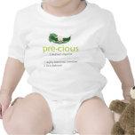 """Camiseta """"preciosa"""" del bebé de la Guisante-en-uno"""