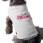 Camiseta preciosa del perro camisetas de perrito