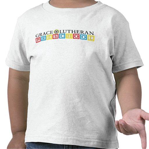Camiseta preescolar del niño del Lutheran de la to