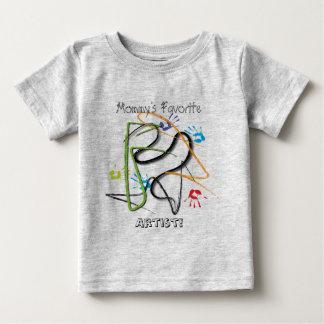 Camiseta preferida del artista de la mamá playeras