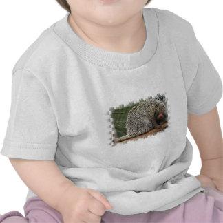 Camiseta Prensil-Atada del bebé del puerco espín