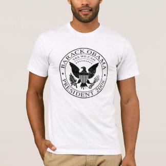 Camiseta presidencial 2008 del sello de Barack