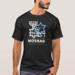 Camiseta Preta hace Mossad