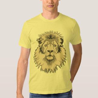 Camiseta principal de American Apparel del león Camisas