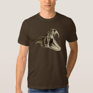 Camiseta principal de la serpiente de cascabel camisas