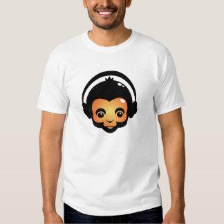 camiseta principal de radio del mono playeras