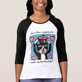 Camiseta principal del gatito de la magdalena