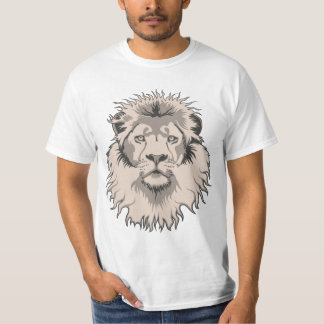 Camiseta principal del valor del león remeras