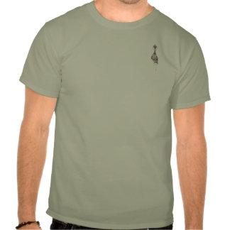Camiseta principal encogida del bolsillo