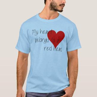 Camiseta principal roja del el día de San Valentín