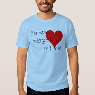 Camiseta principal roja del el día de San Valentín Playera