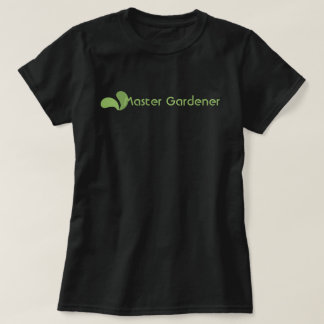 Camiseta principal verde del logotipo del