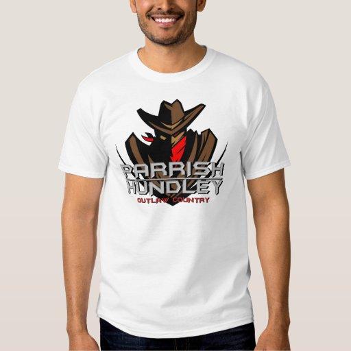 Camiseta proscrita Parrish-Hundley del país Playeras