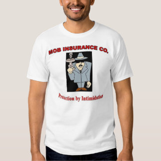 """Camiseta """"protección por la intimidación """" camisas"""
