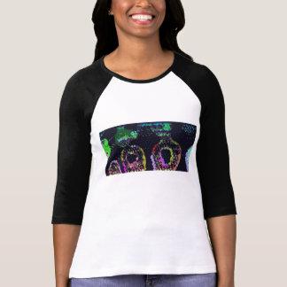 Camiseta psicodélica de la piel de serpiente