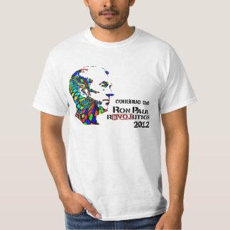 Camiseta psicodélica de Ron Paul Remeras
