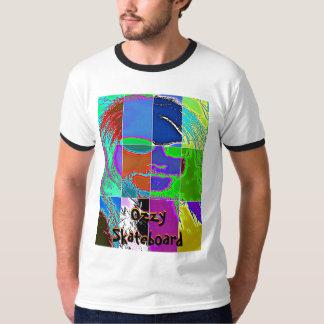 Camiseta psicodélica del monopatín de Ozzy Remeras