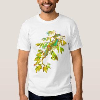 Camiseta psicodélica del Seahorse del dragón del Remeras