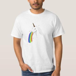 Camiseta Puking del unicornio Camisas