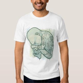 Camiseta punky conservada en vinagre camisas