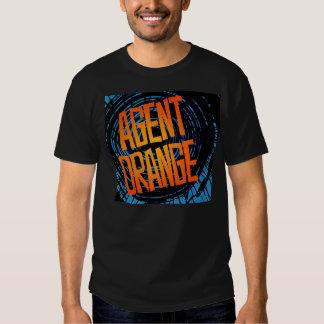 Camiseta punky del logotipo de Agent Orange Polera