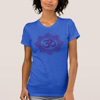 Camiseta púrpura de OM Remera