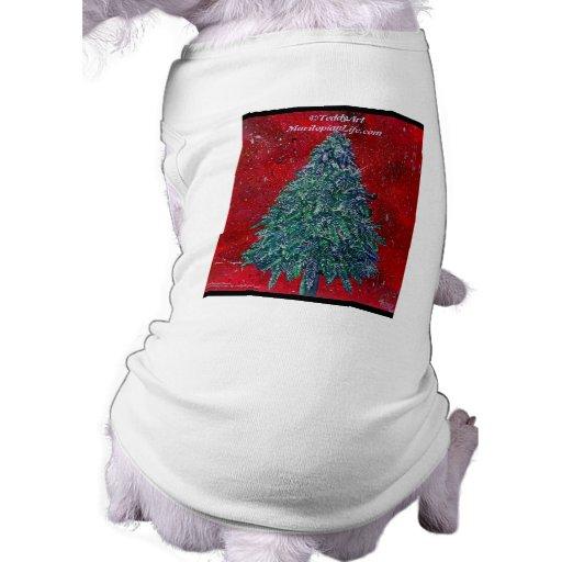 Camiseta púrpura del perro de Kush Playera Sin Mangas Para Perro