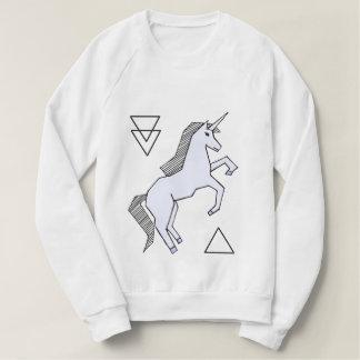 Camiseta púrpura del unicornio de la lavanda linda remera