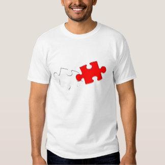 Camiseta Puzzle Poleras