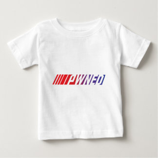 ¡Camiseta Pwned del videojugador! Playera De Bebé