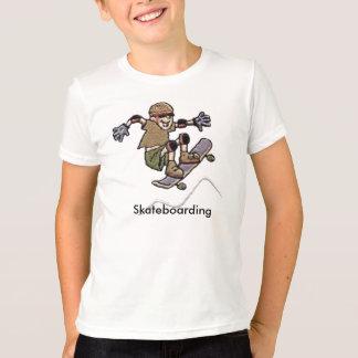 Camiseta que anda en monopatín remeras