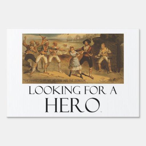CAMISETA que busca a un héroe