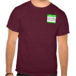 Camiseta que visita