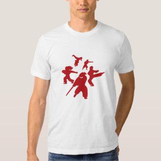 Camiseta r del círculo que lucha remeras