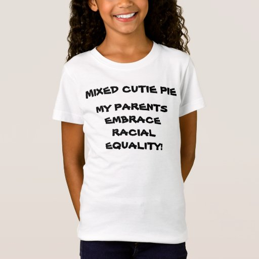 Camiseta RACIAL de los childs de la IGUALDAD del