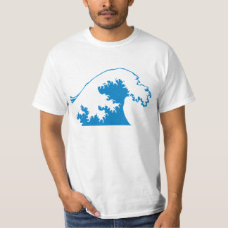 Camiseta radical de la onda remeras