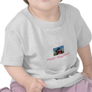 Camiseta raída del bebé de Ragdoll