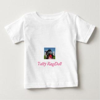 Camiseta raída del bebé de Ragdoll Playeras
