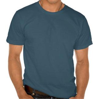 Camiseta rasgada con el ABS falso (piel oscura)