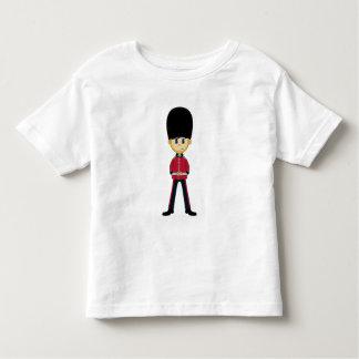 Camiseta real británica del guardia