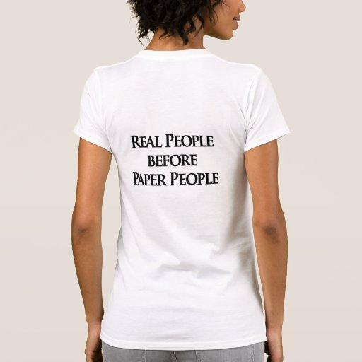 Camiseta real de la gente