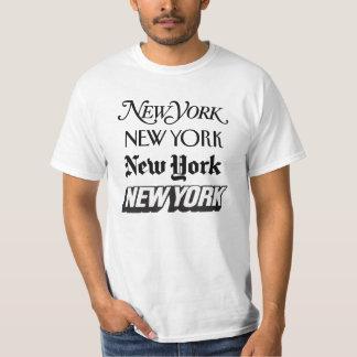 Camiseta real de Nueva York