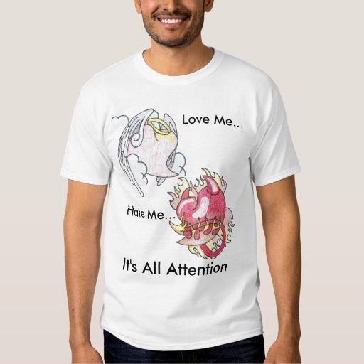 Camiseta real del amor playera